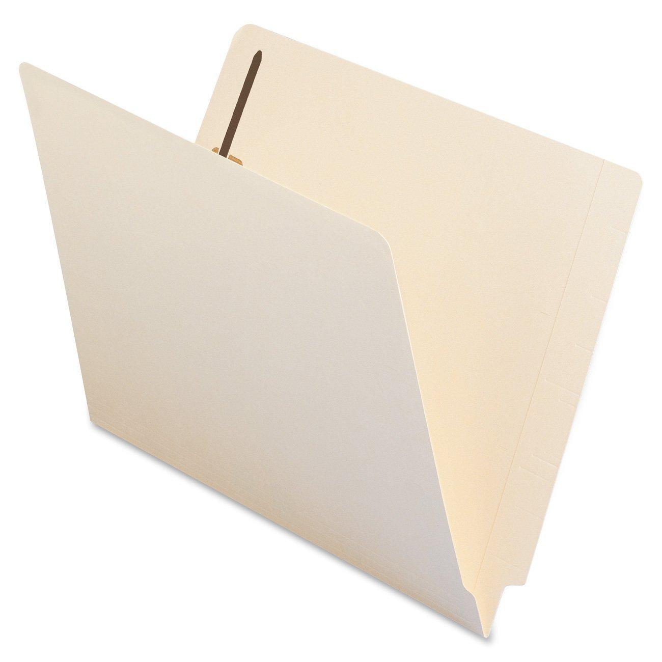 Smead File Folder, Shelf-Master Reinforced KbHnQ Straight-Cut Tab, 2 Fasteners 50 Count (4 Pack) weGpU