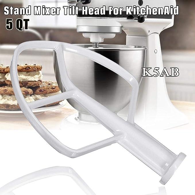 Flachrührer für KitchenAid K5AB K5SS KSM50 KSMP500 KPM5 KG25 KH25 KP50 KSM5