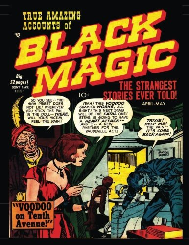 Read Online Black Magic #4: Golden Age Horror-Suspense Comic 1951 PDF ePub book