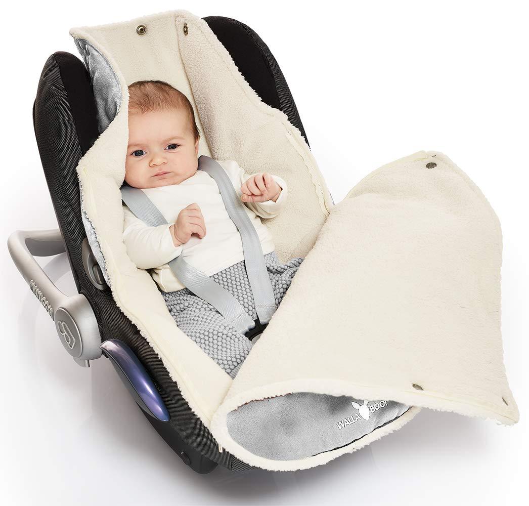 Enfant Car-seat Cocoon Footmuff Universal for Car Seat 0-12/Months Blue 7/A.M