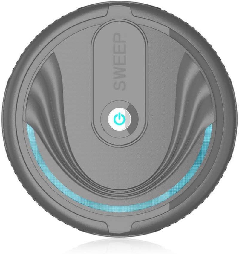 Robot de Barrido Inteligente Máquina de Limpieza automática para el hogar Máquina de Limpieza para aspiradora Inteligente Perezosa Mini (Color: Negro): Amazon.es: Hogar