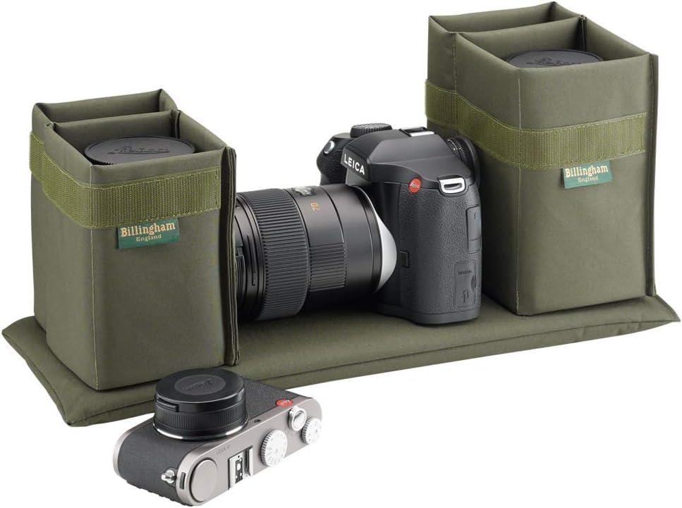 Billingham 445 FibreNyte Bag for Camera - Sage/Tan