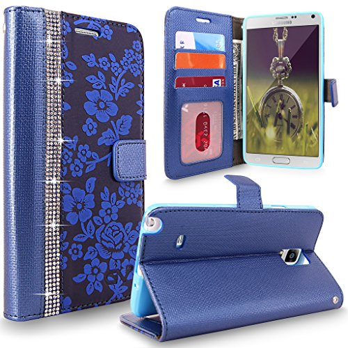 Cellularvilla Diamond Embossed Premium SM N910S