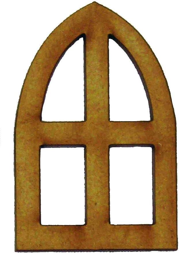 Lot de 2/d/échelles en Bois F/ée pour Jardins Alchemy Gravure Porte de f/ée Accessoires