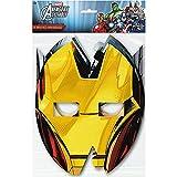 Marvel Avengers Assemble 8 ct Party Masks, 3 Pack
