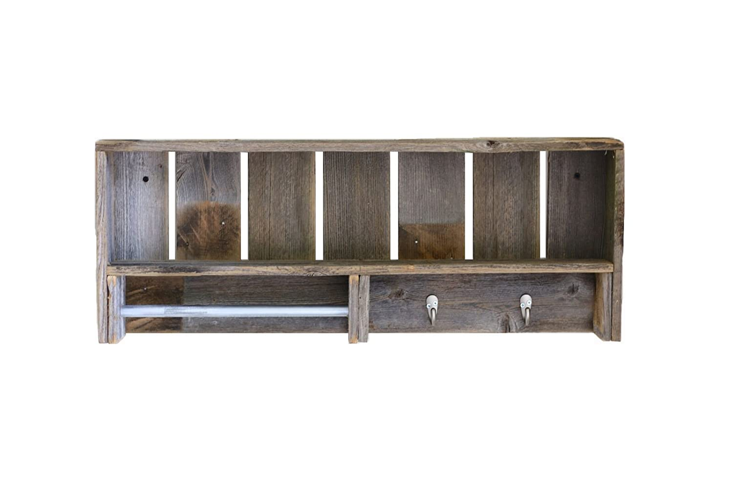 Natural Combo Towel Shelf