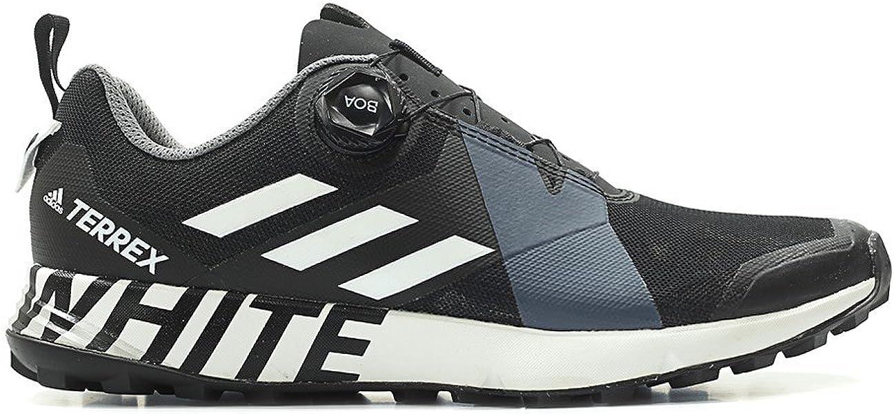 4df181372 adidas Men White Mountaineering Terrex Two Boa Black Footwear White core  Black Size 8.0 US