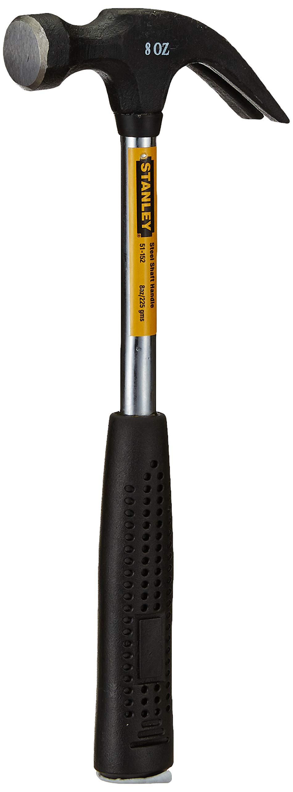 Stanley Claw Hammer Steel Shaft (Black and Chrome) product image