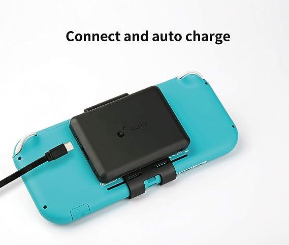 Cargador de batería portátil recargable extendido de 5000 mAh, paquete de energía de respaldo de viaje compacto para Nintendo Switch Lite por TIANG: Amazon.es: Videojuegos