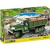 Cobi - 2378 - Jeu de Construction - GMC CCKW 353 Transport Truck - Vert/Marron/Noir