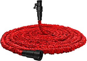 Garden Hose, Water Hose, Upgraded Flexible Pocket Expandable Garden Hose with 3/4