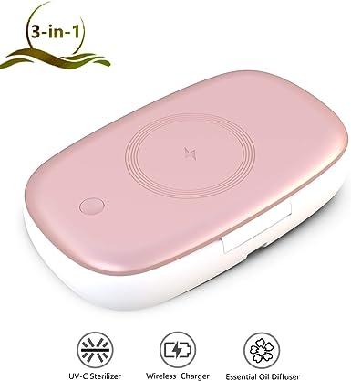 Amazon.com: LIOKEN UV-C - Esterilizador para teléfono móvil ...