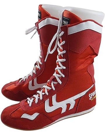 6a2fcf9a651bba Haut Haut Boxe Chaussures Boxer Bottes pour Hommes Femmes Enfants
