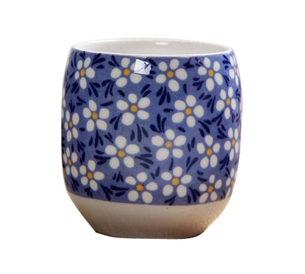 DRAGON SONIC Set Of 4 Retro Sake Cups Ceramics Cup Household Use/Restaurant Tea Cup-C3