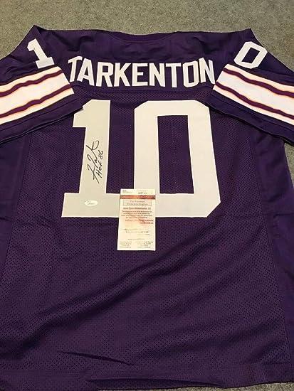 brand new 5962c 1b51f Fran Tarkenton Autographed Signed Inscribed Minnesota ...