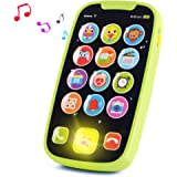 HISTOYE Baby Toys Phone for 1 + Year Old , Sing and Count Toy Cell Phone for Toddlers, Role Play Baby Phone for Early Learnin