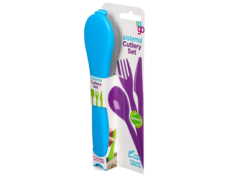 Polypropylene Assorted Sistema Cutlery to Go One