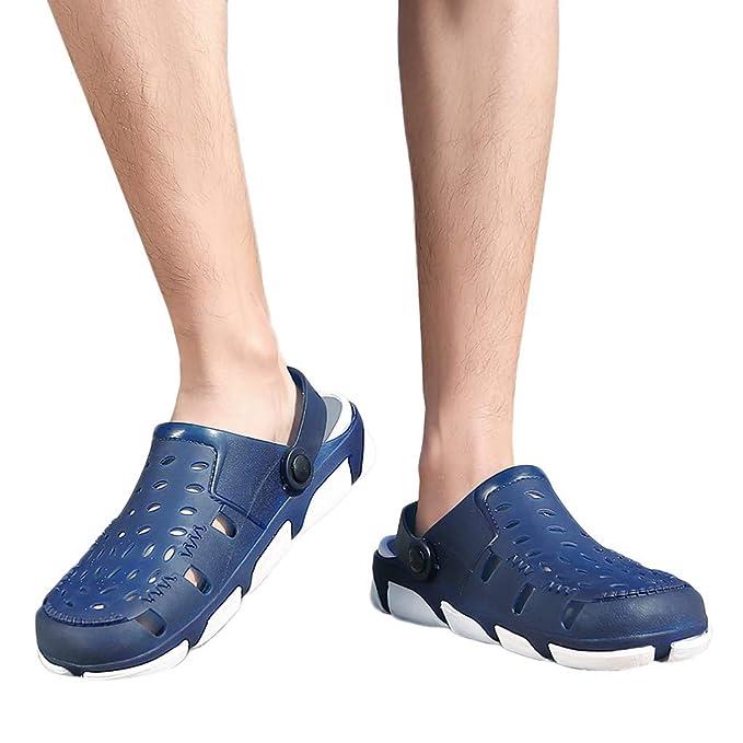 Btruely Hombre Zapatillas Casuales de Verano Zapatillas Orificios Transpirables Zapatillas Ligeras Zapatos de Playa Zapatos para Correr Gimnasio Sneakers ...