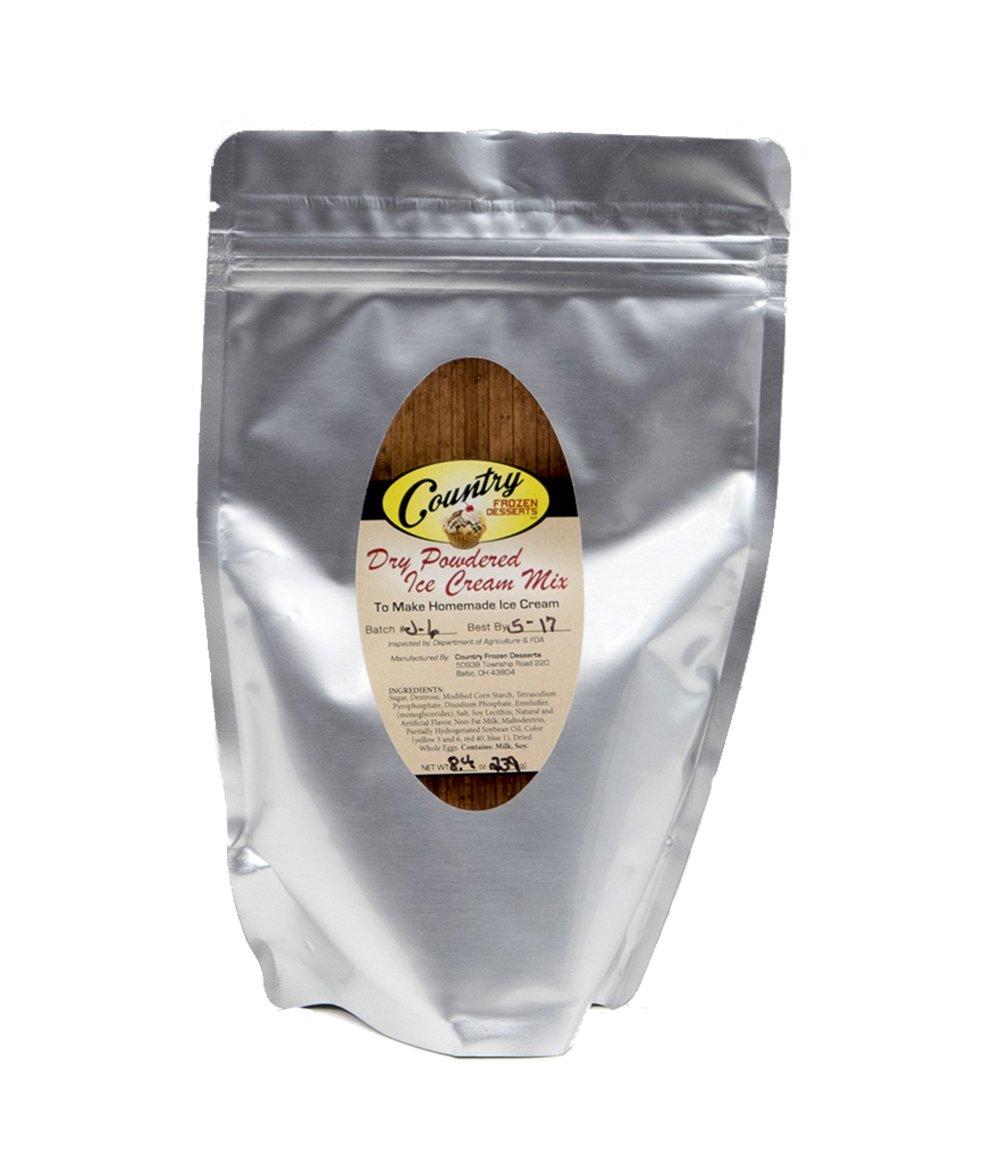 Dry Powdered Ice Cream Mix (Makes 6 qt.) 8.4 oz (1)