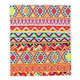 Society6 India Style Pattern (Multicolor) 88'' x 104'' Blanket