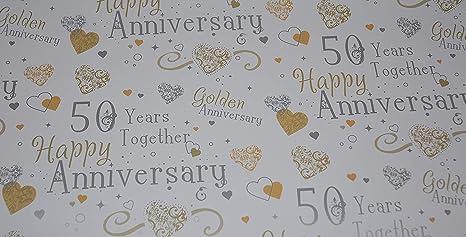 Emballage Cadeau Pour 50ème Anniversaire De Mariage 2