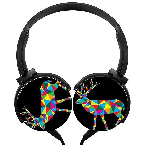 Amazon com: Geometric Deer New Practical Sub-Woofer Stereo