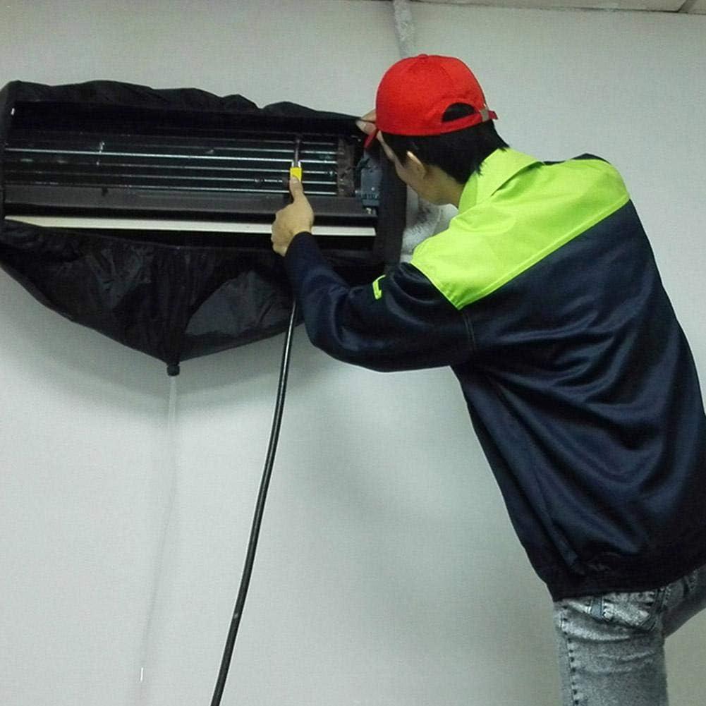 Luerme Climatisation ext/érieure Nettoyage Couverture imperm/éable /à leau Wind Wheel Conduit de Nettoyage Couverture de leau avec 3 m/ètres de Long Tuyau deau pour la Maison