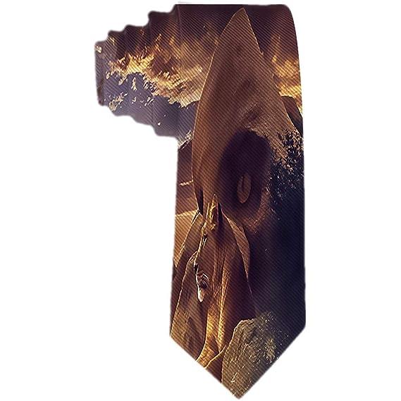 Lazo clásico de los hombres La pareja del león La corbata animal ...