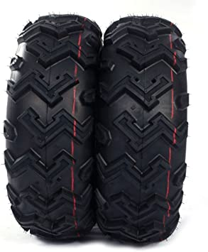 MILLION PARTS 4 ATV//UTV Tires AT 25x8-12 Front /& 25x10-12 Rear//6 Ply P306B Full Set of