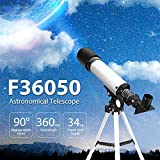 Techtest Complete Set 90X Monocular Space Astronomical Binoculars Telescope for Students