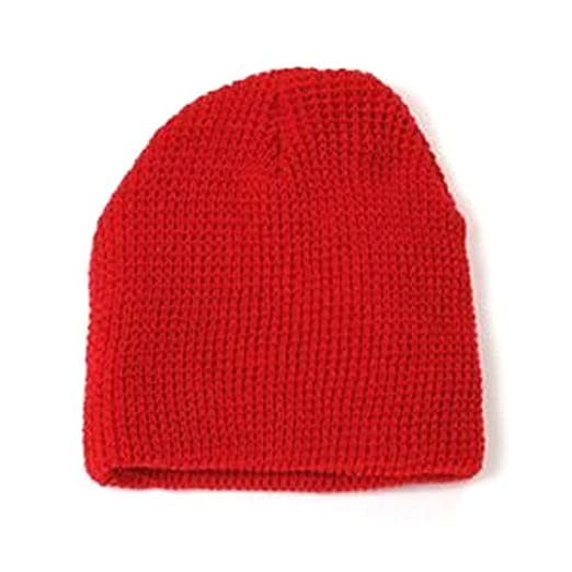 0e1ca260d92 GI Watch Cap Cuffless Beanie - Red at Amazon Men s Clothing store ...