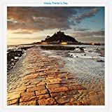 St. Michael's Mount, Cornwall Father's Day Greeting Card