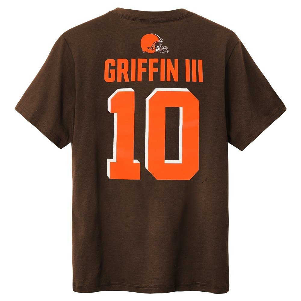 Outerstuff Robert Griffin Iii NFL Cleveland Browns Player Jersey Tシャツユース(XS - XL) L/10-12  B07D8GXQPM