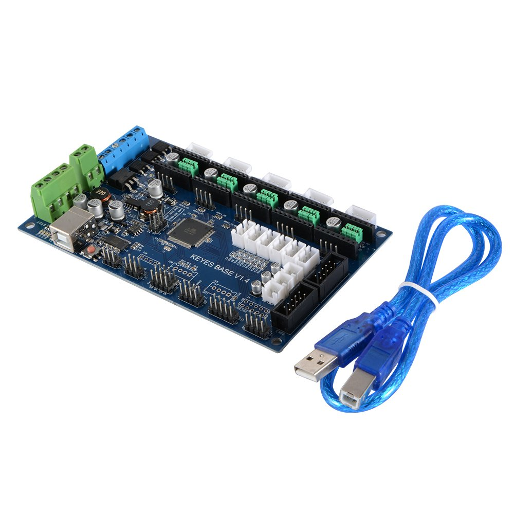 KINGPRINT 3D Printer Main Board MKS Base V1.6 Integrated Motherboard Compatible Mega 2560 /& 1.4 Control Board RepRap Mendel