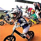 KinderKraft 德国 滑步车儿童平衡车无脚踏单车自行车 两轮踏行车10寸 2-3-6岁 镁合金轻量款 (王子黑)