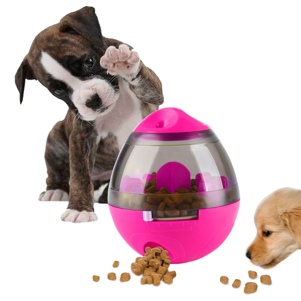 Swenter Treat Ball Dog Toy for Pet Increases IQ Interactive Food Dispensing Ball