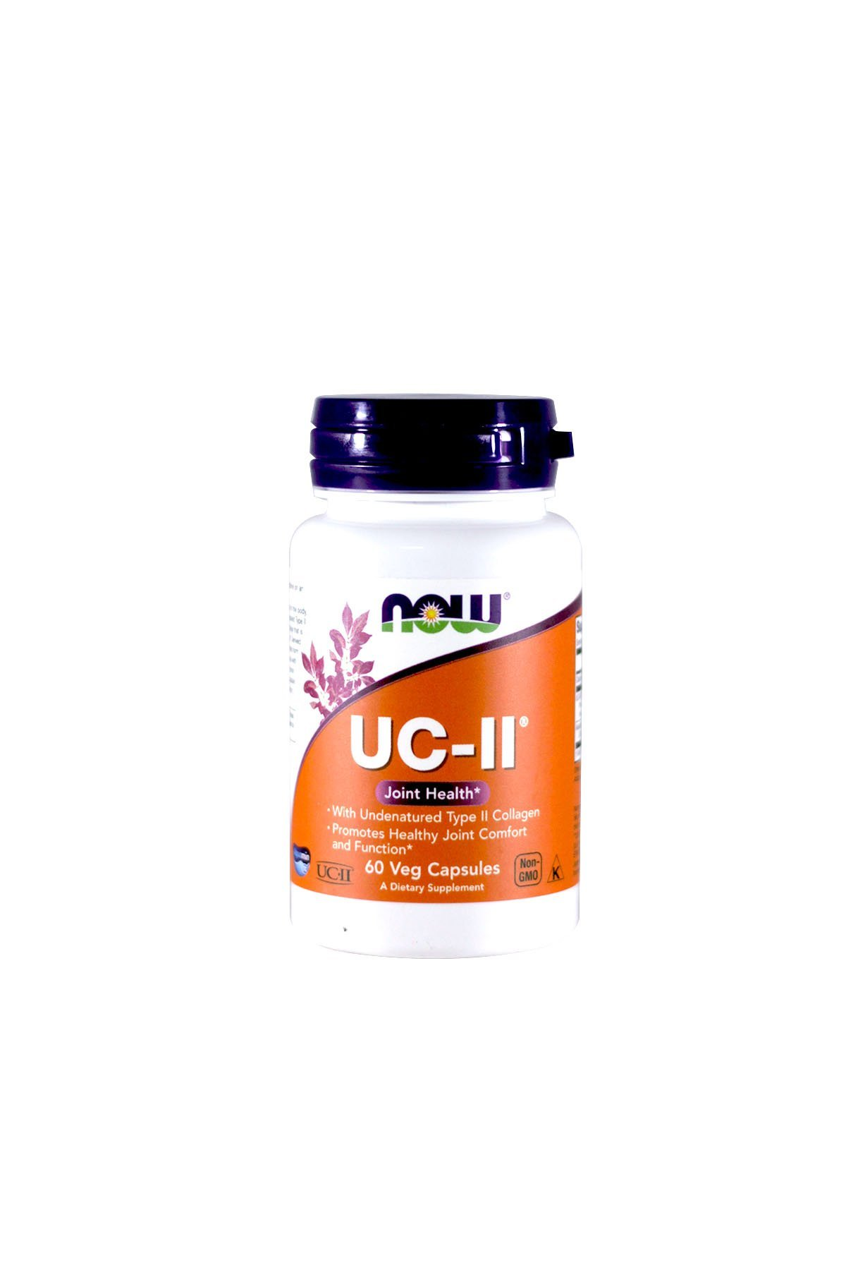 UC-II Type II Collagen, 40 mg, 60 Vcaps by Now Foods (Pack of 3)