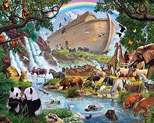 Vermont Christmas Company Noah's Ark Jigsaw Puzzle 1000 Piece