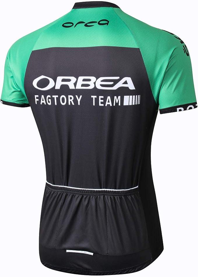Alpediaa ORBEA Camiseta de Ciclismo Hombre Juego, Deportes y Tiempo Libre MTB Bicicleta Ropa Ciclismo Camisa poliéster Bike Camisetas gemütlich, Color ALORBJS, tamaño Medium: Amazon.es: Deportes y aire libre