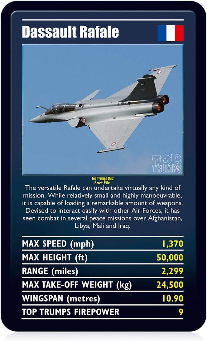 Ultimate Military Jets Top Trumps Card Game WM01627-EN1-6