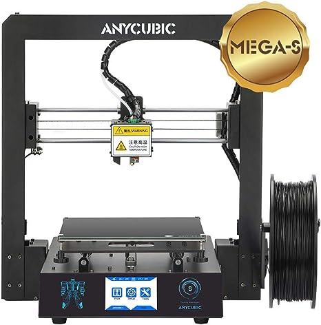 ANYCUBIC Mega-S - Impresora 3D, tamaño 210 x 210 x 205 mm, con ...