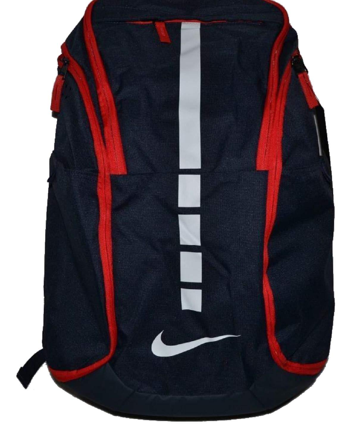 Nike Hoops Elite Hoops Pro Basketball Backpack Obsidian Blue/Red/White