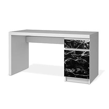 Designfolie für Ikea Malm Schreibtisch Kommode | Möbelsticker ...