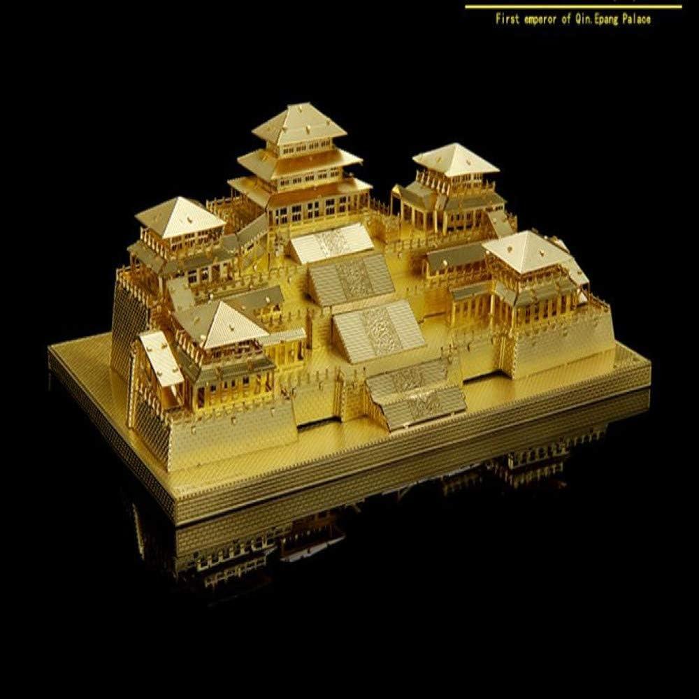 MQKZ Juego de ensamblaje de Rompecabezas Modelo de Metal/China ...