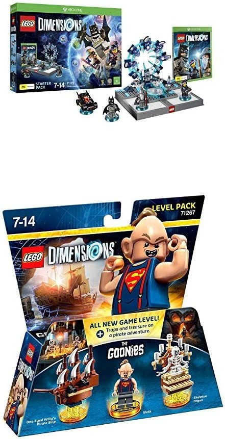 LEGO - Starter Pack Dimensions (Xbox One) + Goonies (Level Pack ...