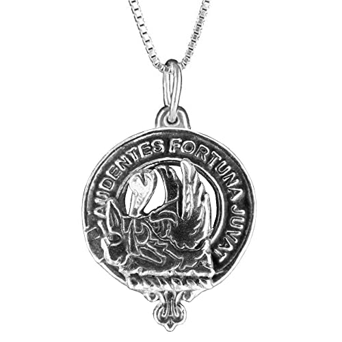Amazon mackinnon scottish clan crest pendant sterling silver mackinnon scottish clan crest pendant sterling silver aloadofball Images