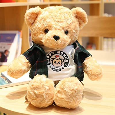 SXPC Plush Software Cartoon Cute Teddy Bear Pillow Doll Children's Gift Plush Toys,E: Sports & Outdoors