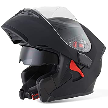 Visor de Moda Que expone la Cara Doble de la Motocicleta del Casco de la Motocicleta