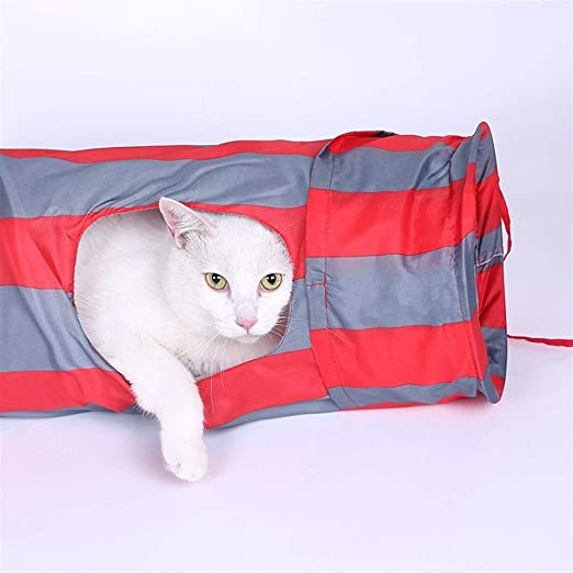 GeWu888 Gato Plegable túnel Dragón Roll Pueden ser Cosidas ...