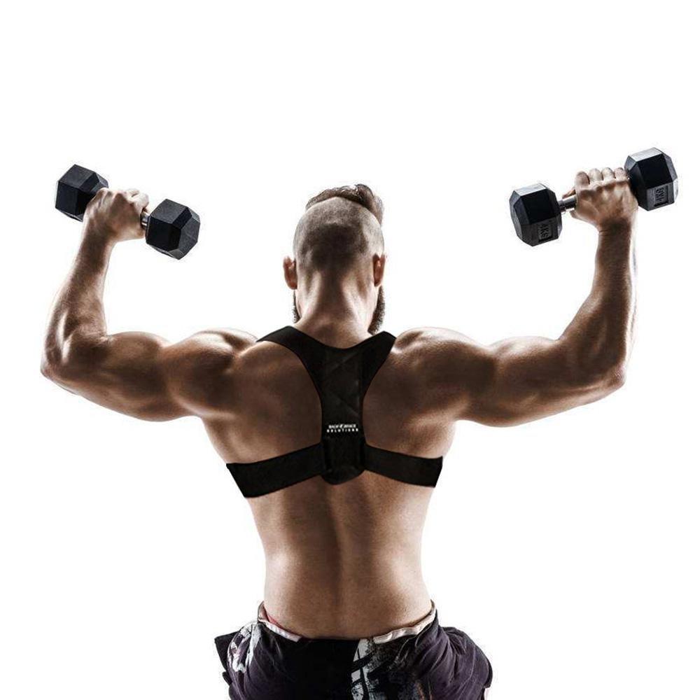 Pawaca Back Posture Corrector for Women & Men, Best Fully Adjustable Support Brace for Slouching & Hunching,Shoulder & Neck Pain Relief-Eliminate Bad Posture